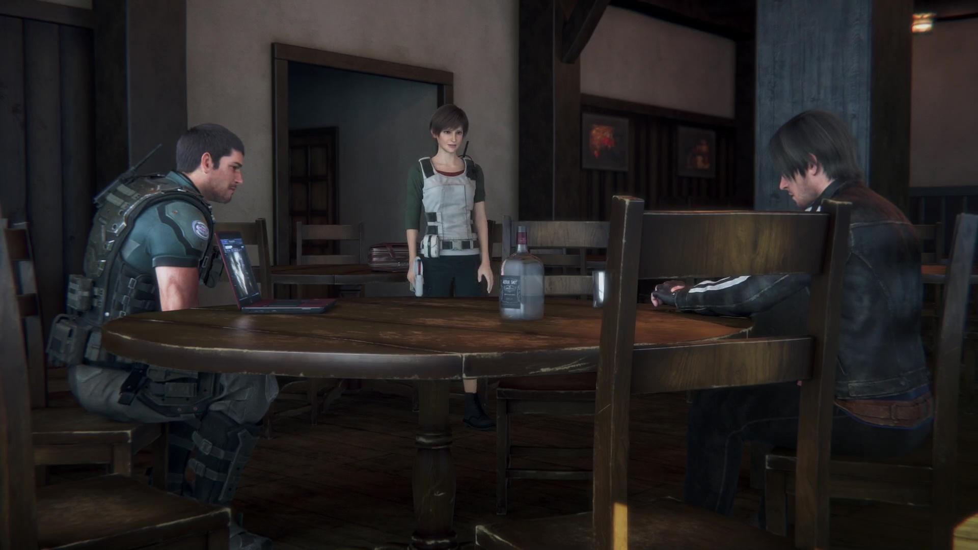 Resident Evil Venganza 1080p Lat-Cast-Ing[Animación](2017)