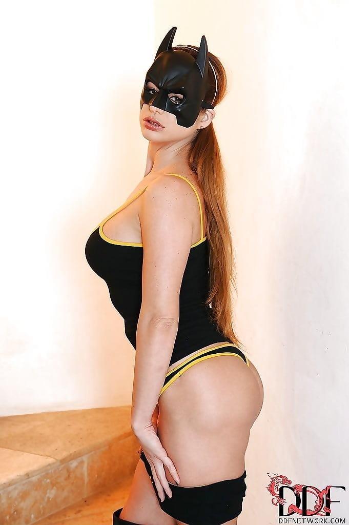 Sexy bat woman costume-3948