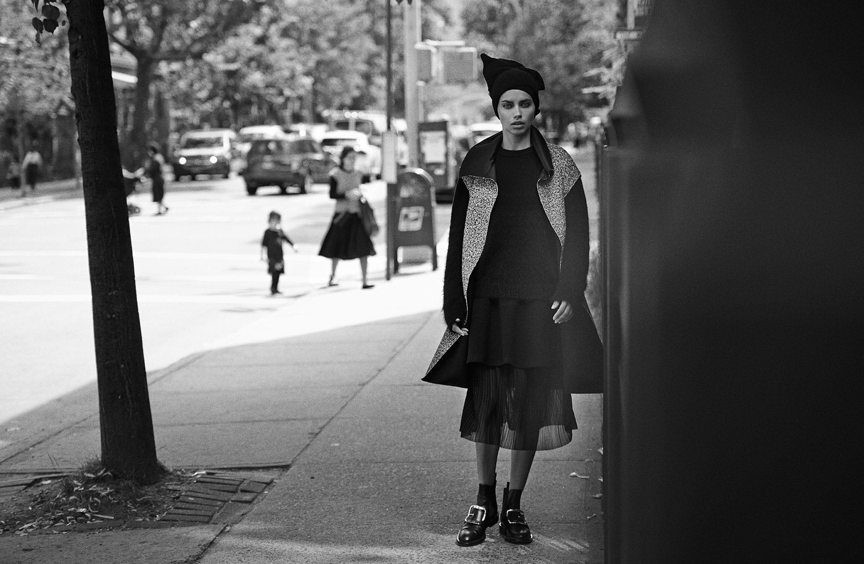 Прогулка по Бруклину с Адрианой Лимой / фото 08