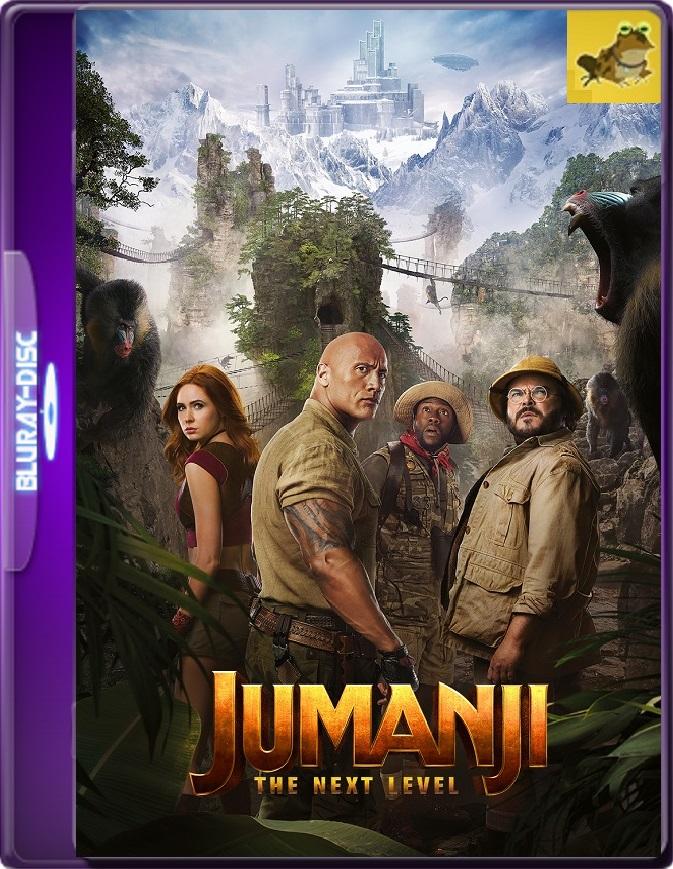 Jumanji: El Siguiente Nivel (2019) Brrip 1080p (60 FPS) Latino / Inglés