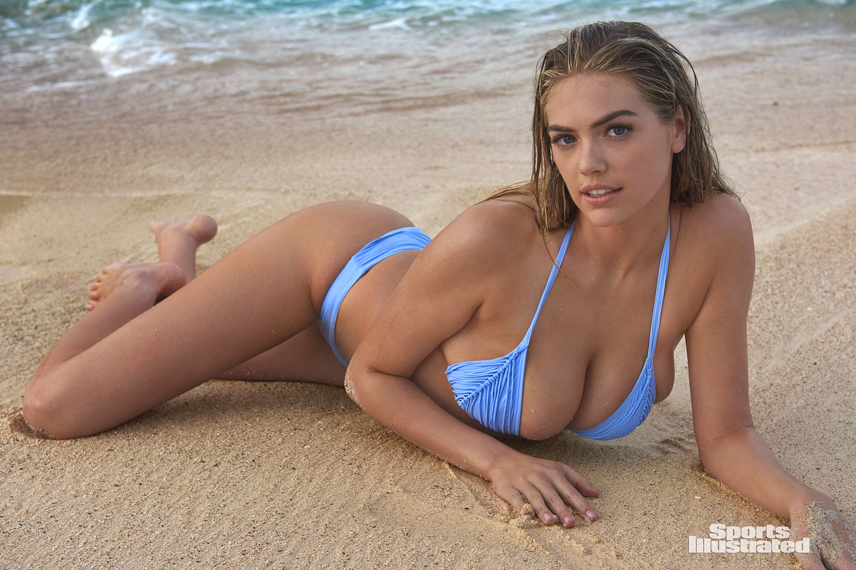 Kate Upton / Кейт Аптон в купальниках из новой коллекции Sports Illustrated Swimsuit 2018 issue / in Aruba by Yu Tsai