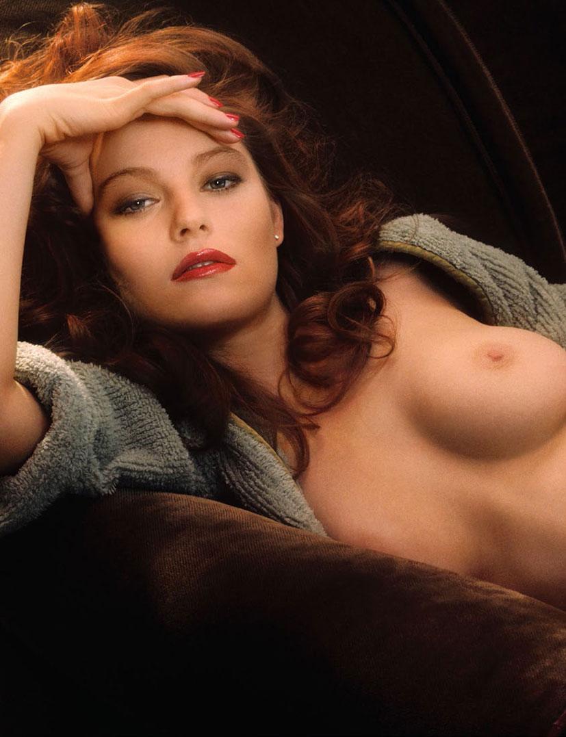 рыжие сексуальные красавицы в журнале Playboy - Laura Richmond