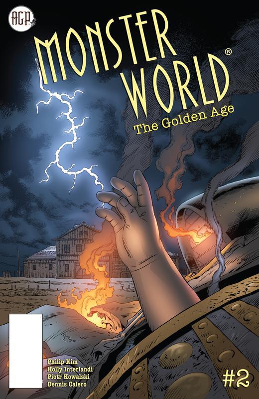 Monster World - The Golden Age #1-5 (2019-2020)