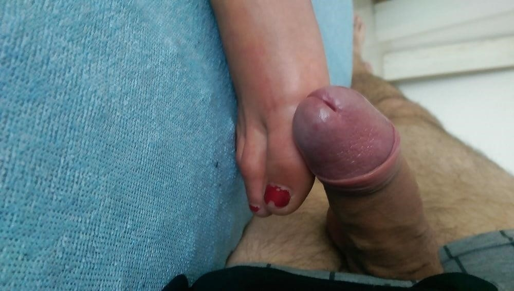 Teen blonde footjob-2266