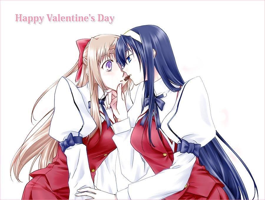 Lesbian anime pics-3867
