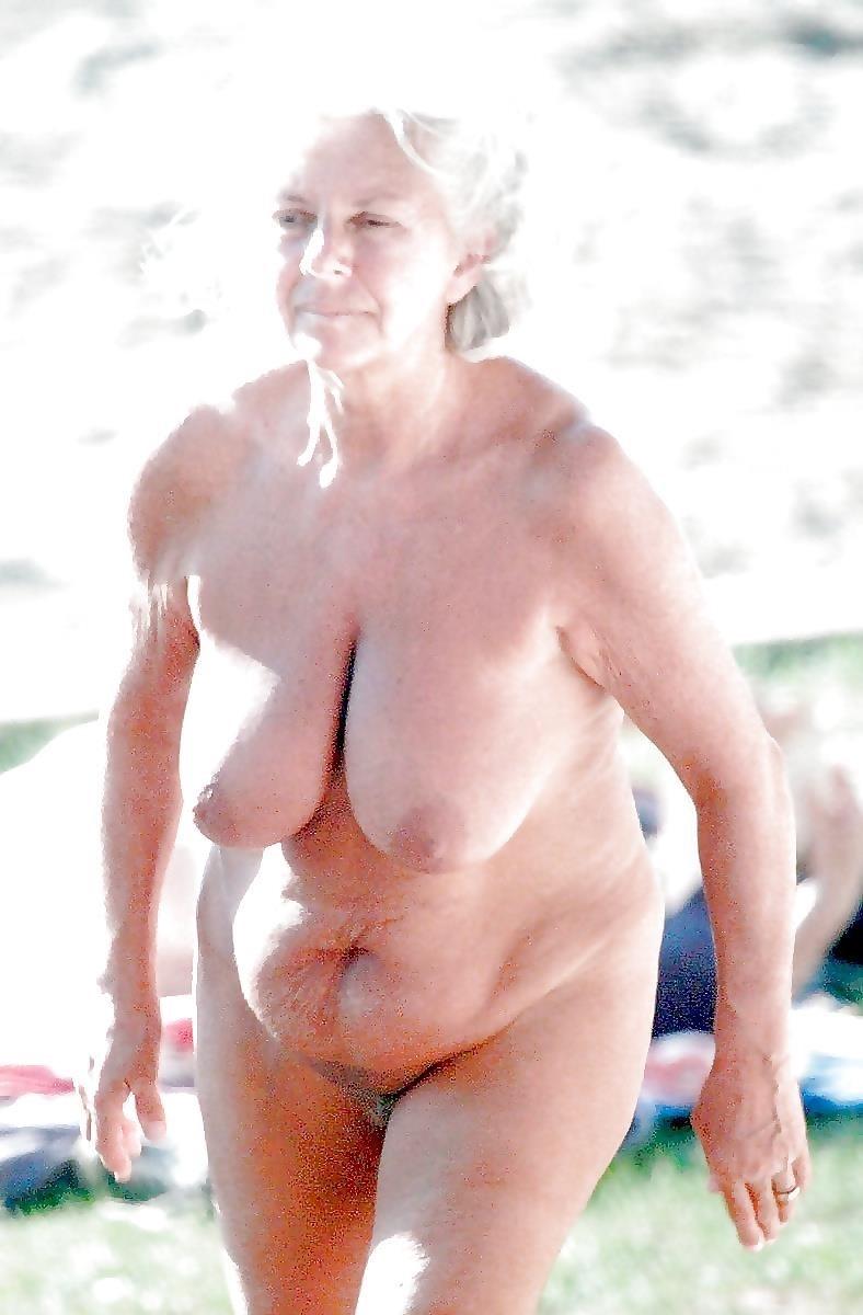 Older women nude beach-7541