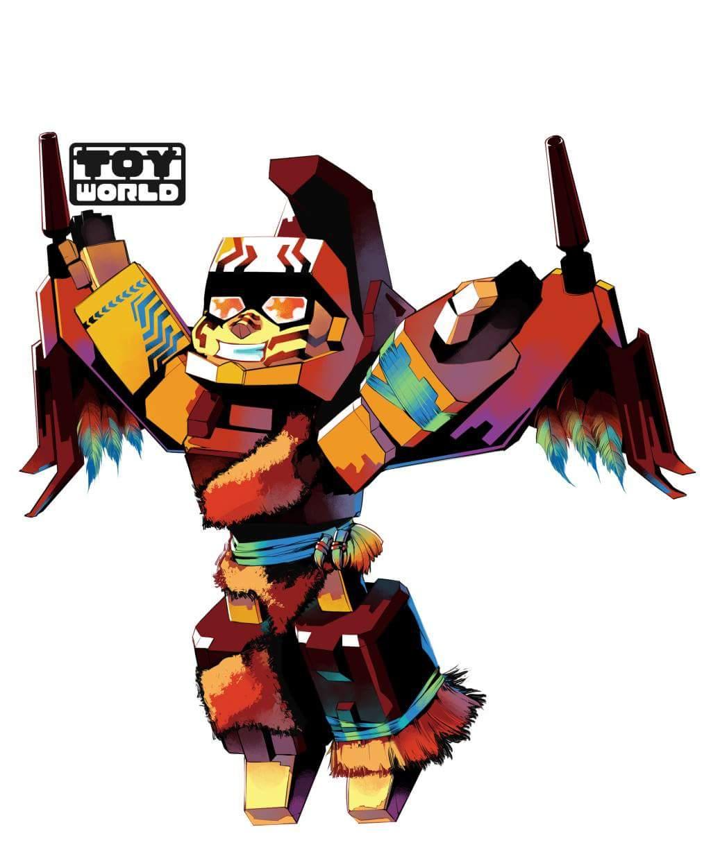 [Toyworld][Cang-Toys] Produit Tiers - Thunderking/Chiyou - aka Predaking/Prédaroi (Prédacons) GdZeYi0i_o