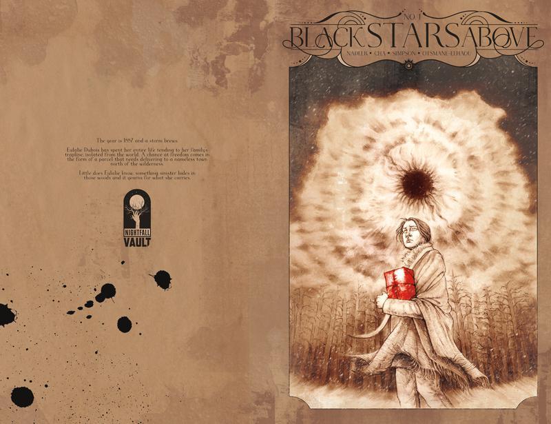 Black Stars Above 001 (2019)