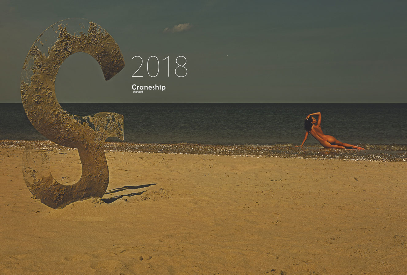 Эротический календарь Craneship / nu calendar 2018 by MordererStudio