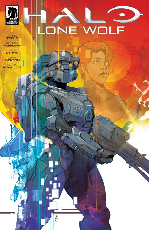 Halo - Lone Wolf #1-4 (2019)