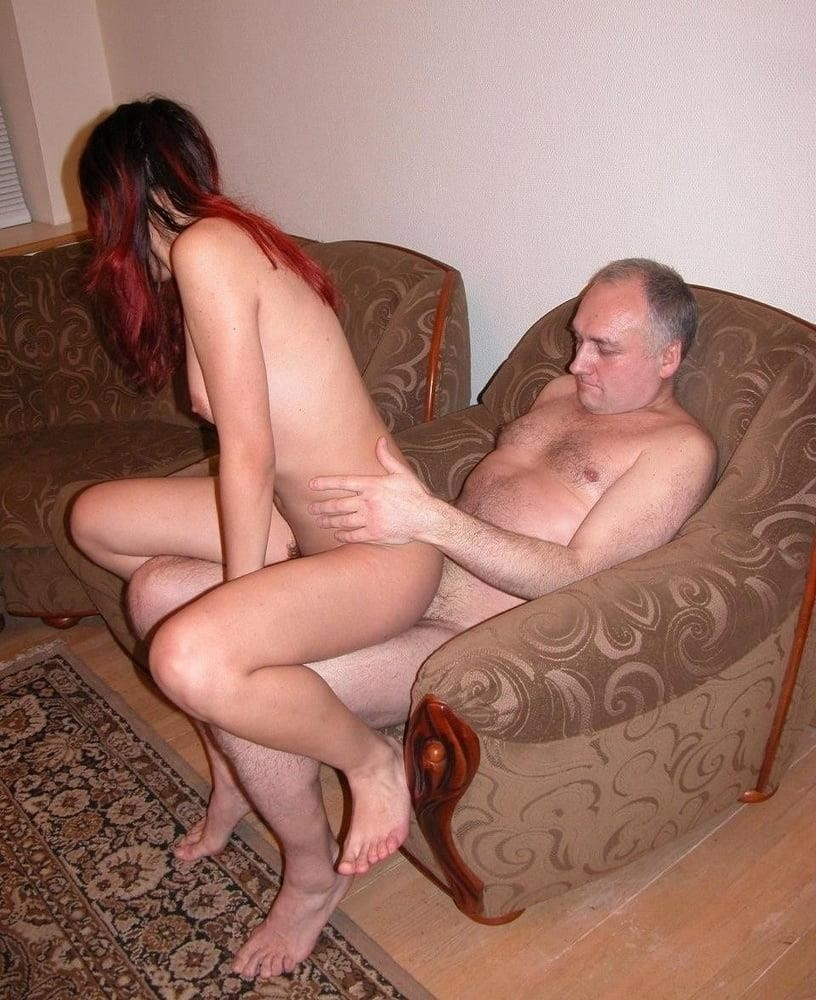 Hot girl with old guy-2782