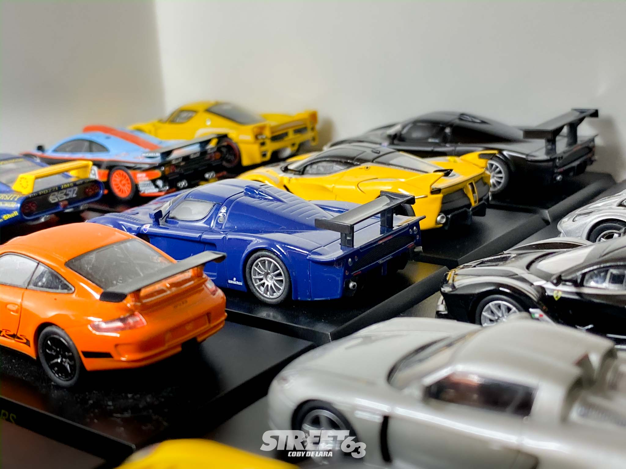 Mini63: The Street63 Diecast Collection 1
