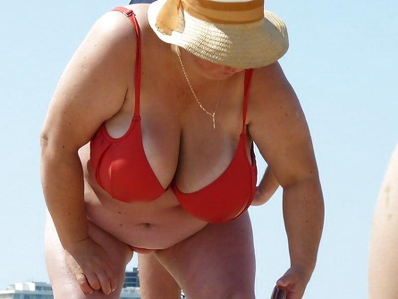 Nude big boobs on beach-9050