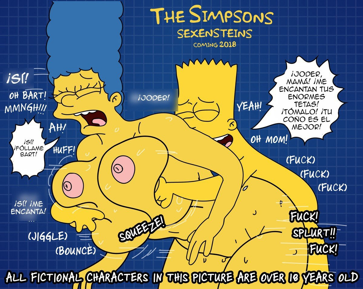The Simpsons are The Sexenteins - 1