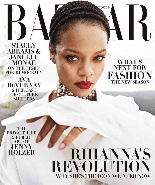 Рианна в журнале Harpers Bazaar, сентябрь 2020 / фото 17