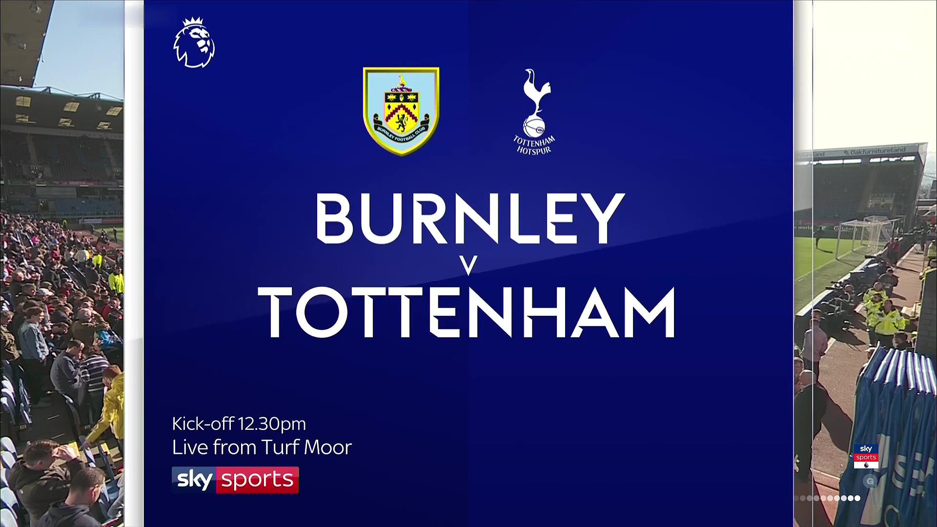 Xem lại: Burnley vs Tottenham Hotspur