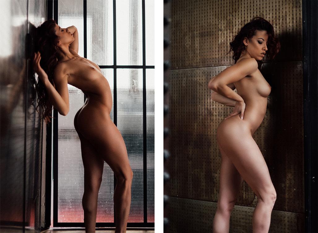 Clara Rene nude by Julien LRVR - Yume Magazine