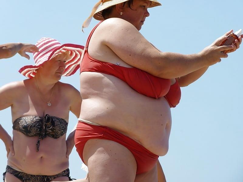 Nude big boobs on beach-9304