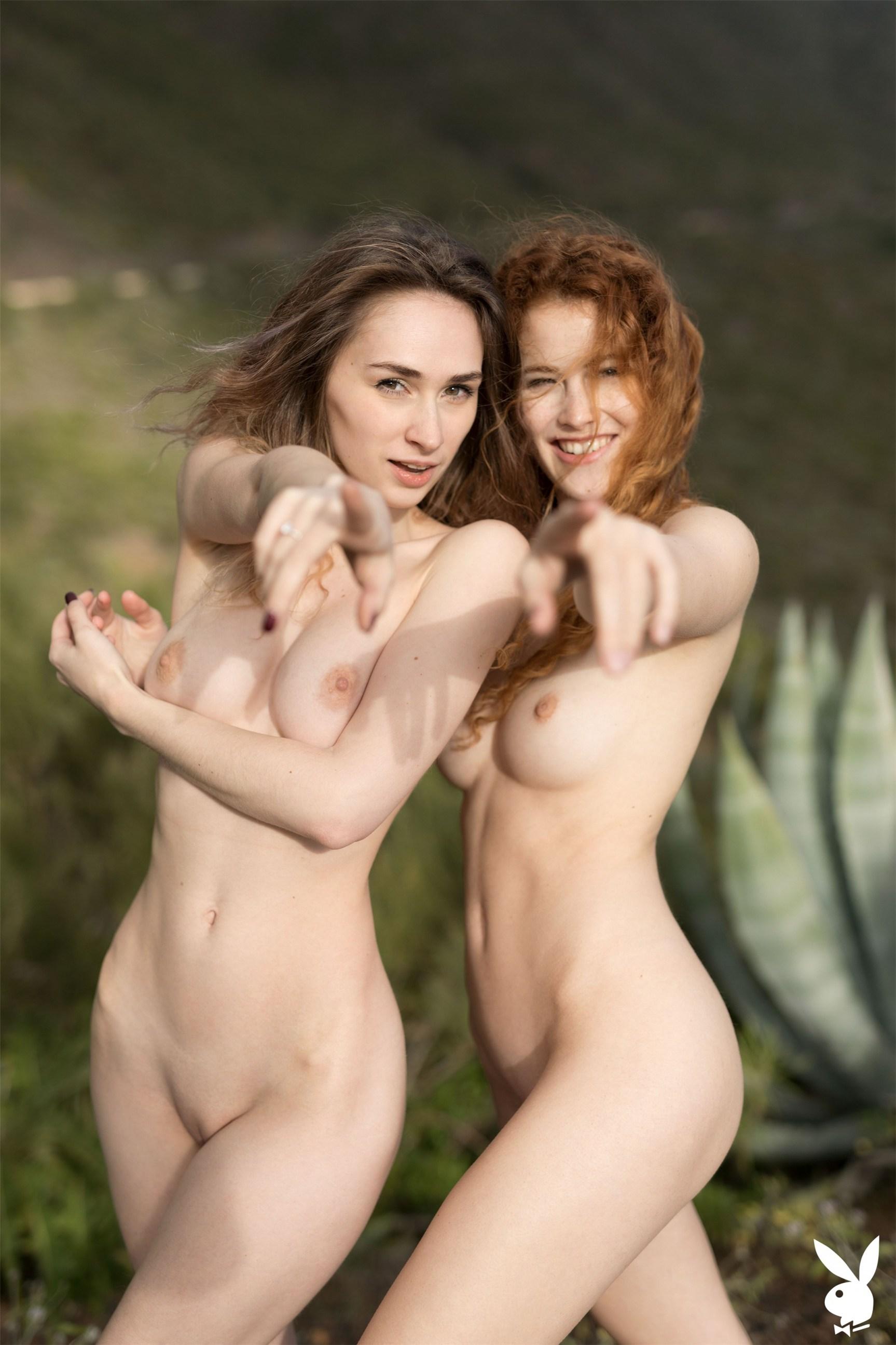 Stunning Snapshots / Heidi Romanova and Yana West by Henrik Pfeifer / PlayboyPlus