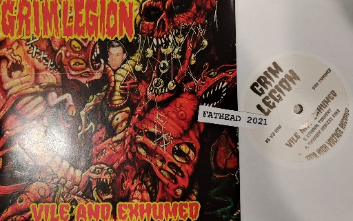 Grim Legion-Vile and Exhumed-7INCH VINYL-FLAC-2018-FATHEAD