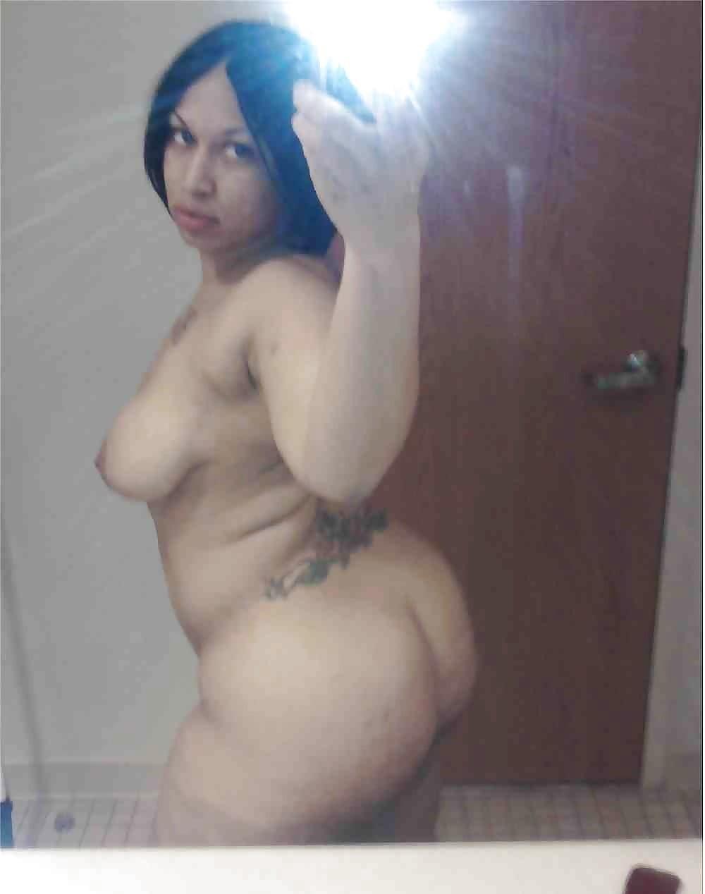 Ebony naked selfie-2730