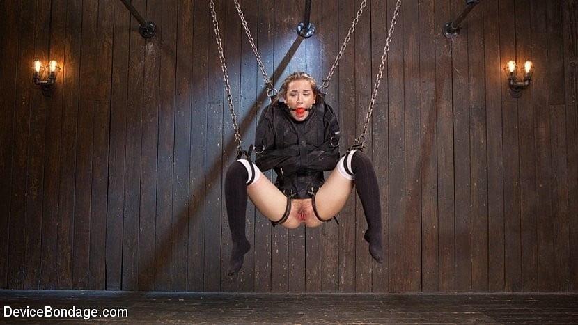 Girl straitjacket bondage-3195