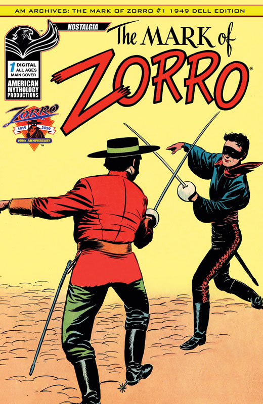 The Mark of Zorro 001 (2019)