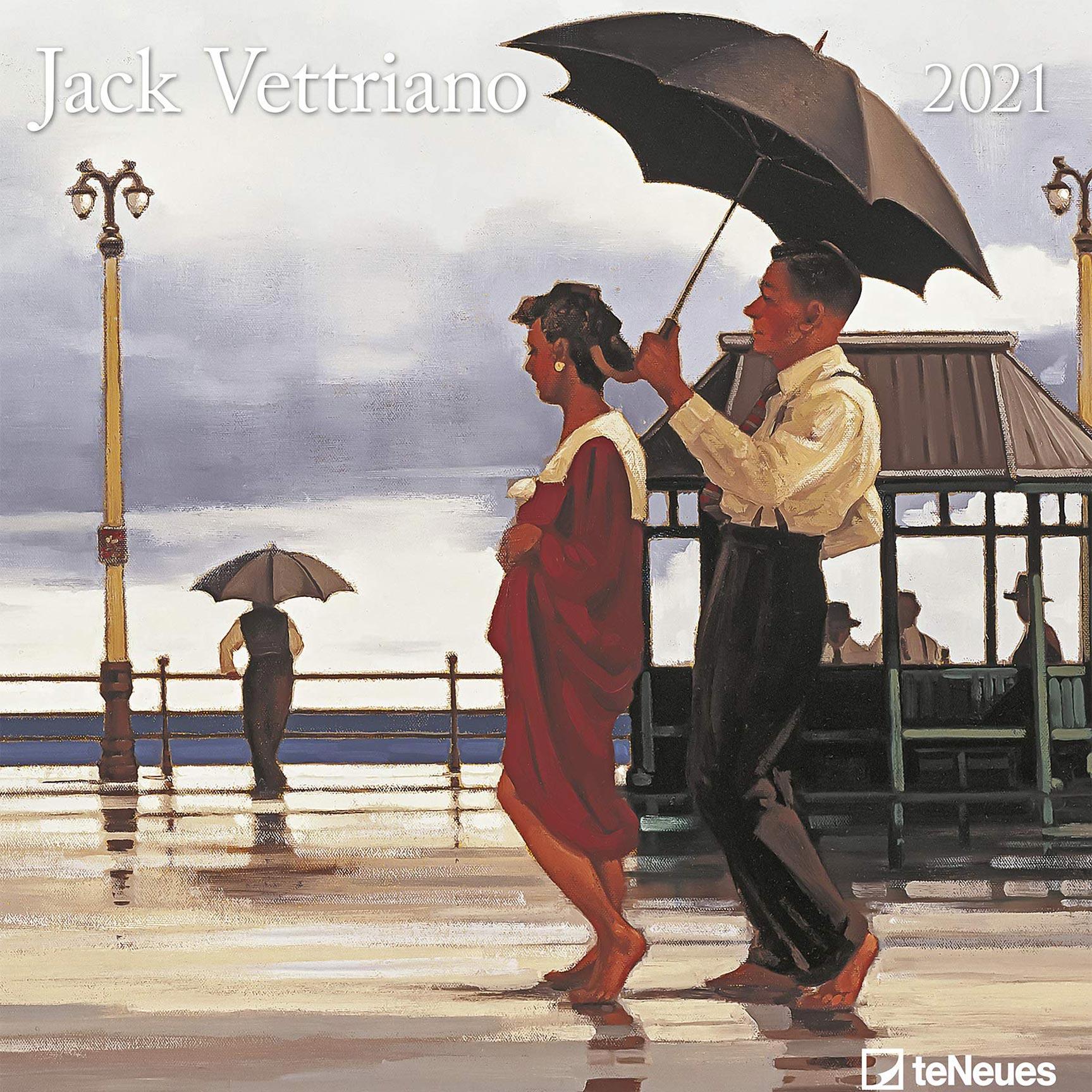 Календарь с работами художника Джека Веттриано на 2021 год / обложка