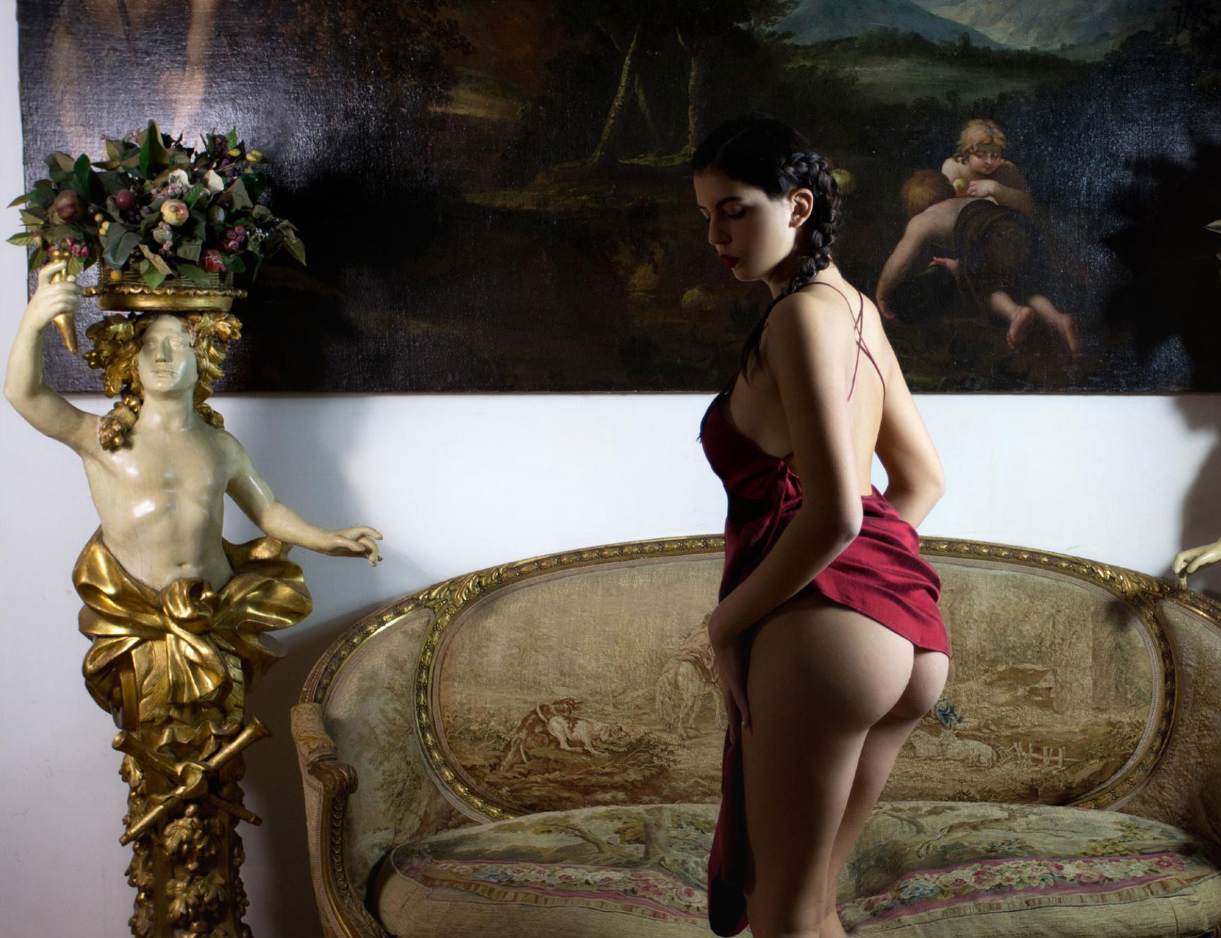 The Muse / Lavinia nude by Roberto Manetta - Volo Magazine february 2018