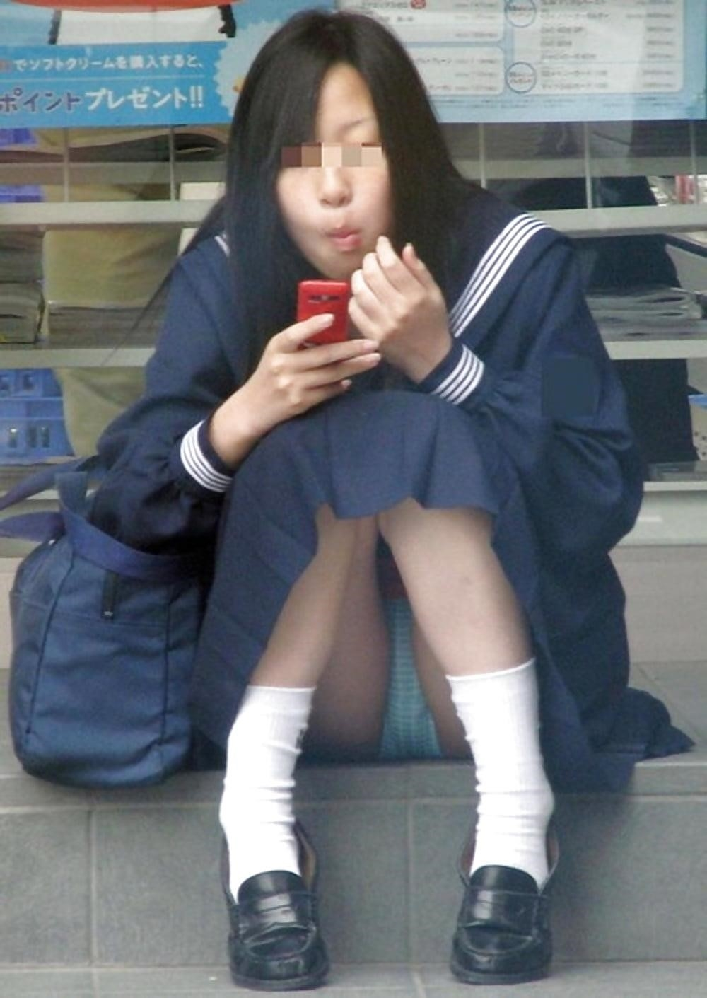 Cute asian schoolgirl-4106