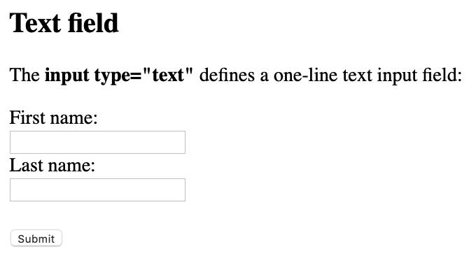 text type input coding
