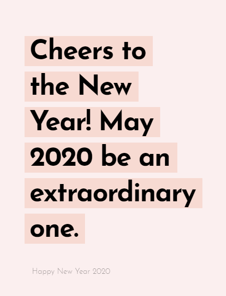 Happy New Year 2020 Wishes Quotes, Happy new year inspiration night 2020, wishes, messages & greetings 1