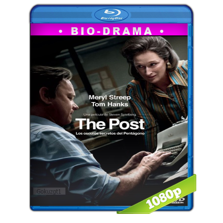 descargar The Post Los Oscuros Secretos Del Pentagono [2017][BD-Rip][1080p][Trial Lat-Cas-Ing][VS] gratis