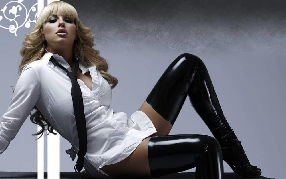 Latex stockings porn pics-8655