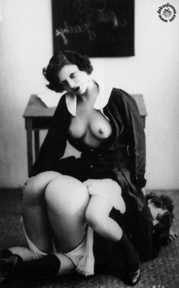 Vintage hairy nude-9938