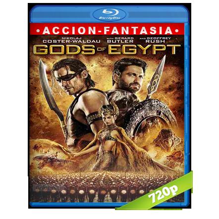 Dioses De Egipto 720p Lat-Cast-Ing 5.1 (2016)