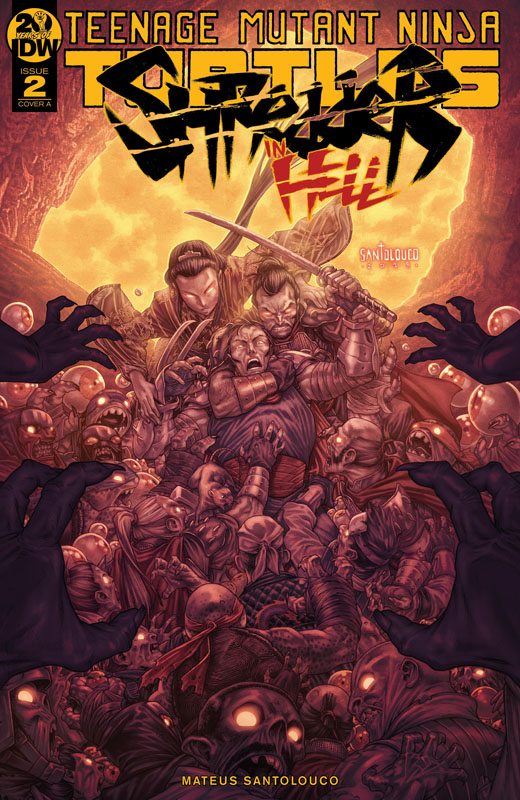 Teenage Mutant Ninja Turtles - Shredder in Hell #1-5 + Director's Cut (2019)