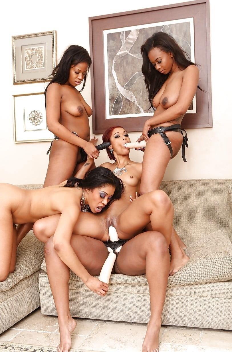 Black lesbian squirting orgy-9143