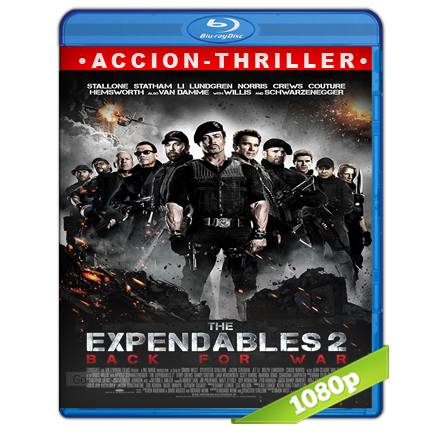 Los Indestructibles 2 1080p Lat-Cast-Ing[Acción](2012)