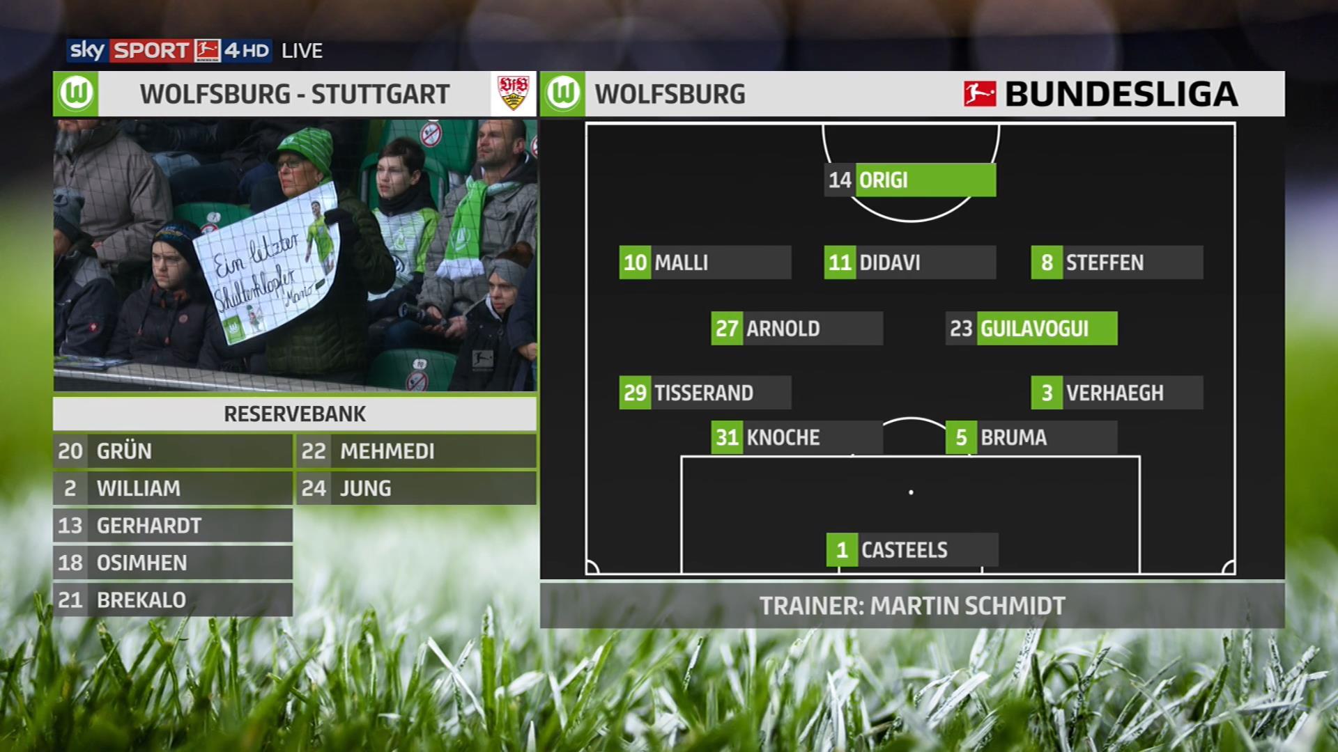GaLaTaMaN HD Football Bundesliga 17 18 Matchday 21 Wolfsburg