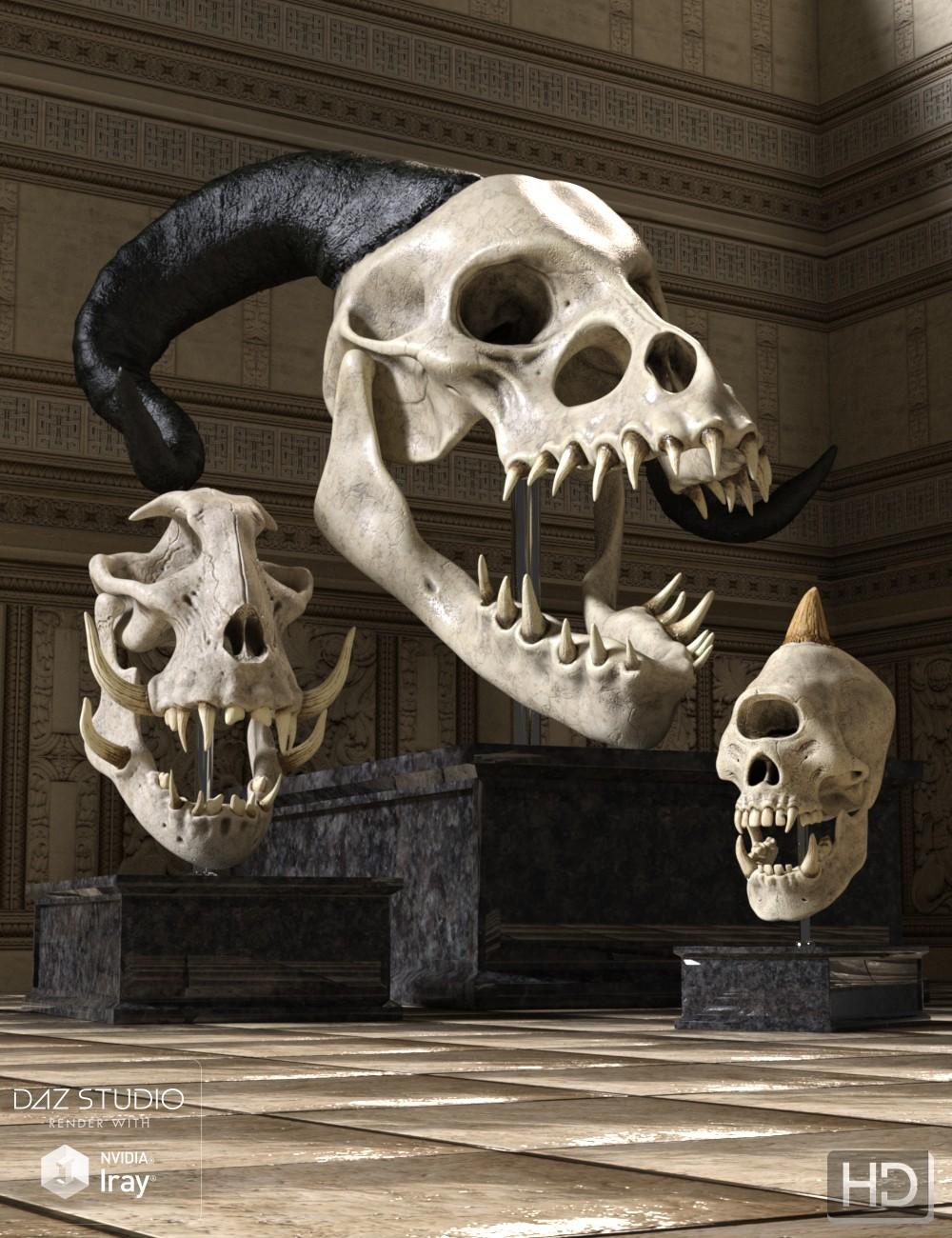 Monster Skulls HD