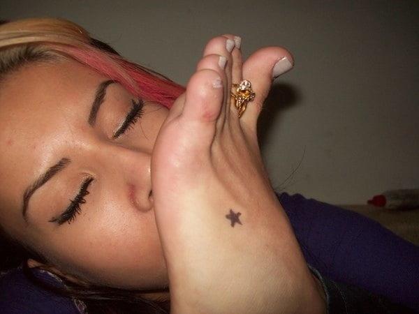 Mistress tiffany foot worship-7778