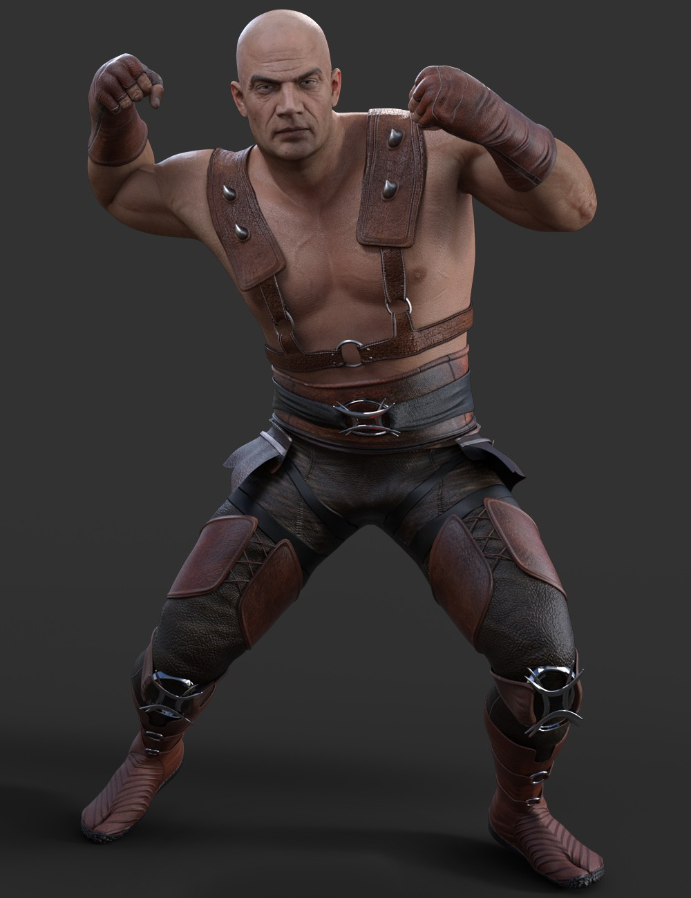 X-Fashion Combat Outfit for Genesis 3 Male(s)