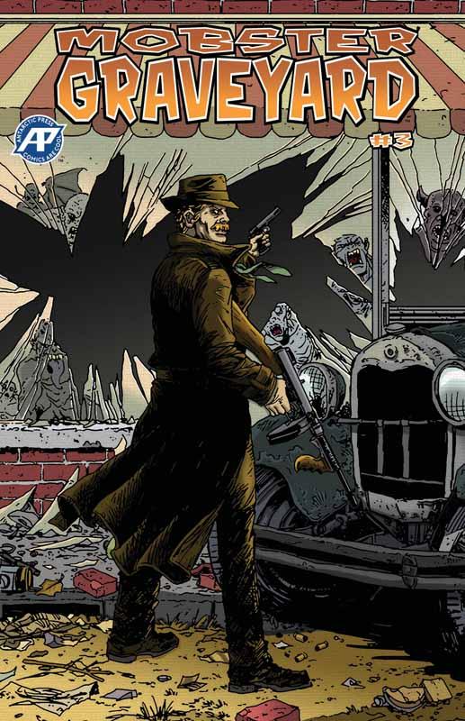 Mobster Graveyard #1-5 (2018-2019) Complete