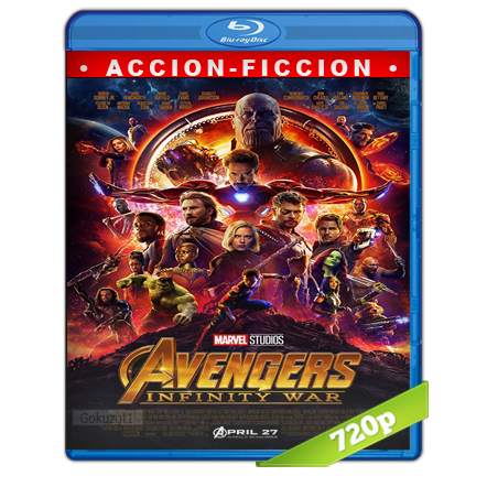 Avengers Infinity War 720p Lat-Cast-Ing 5.1 (2018)