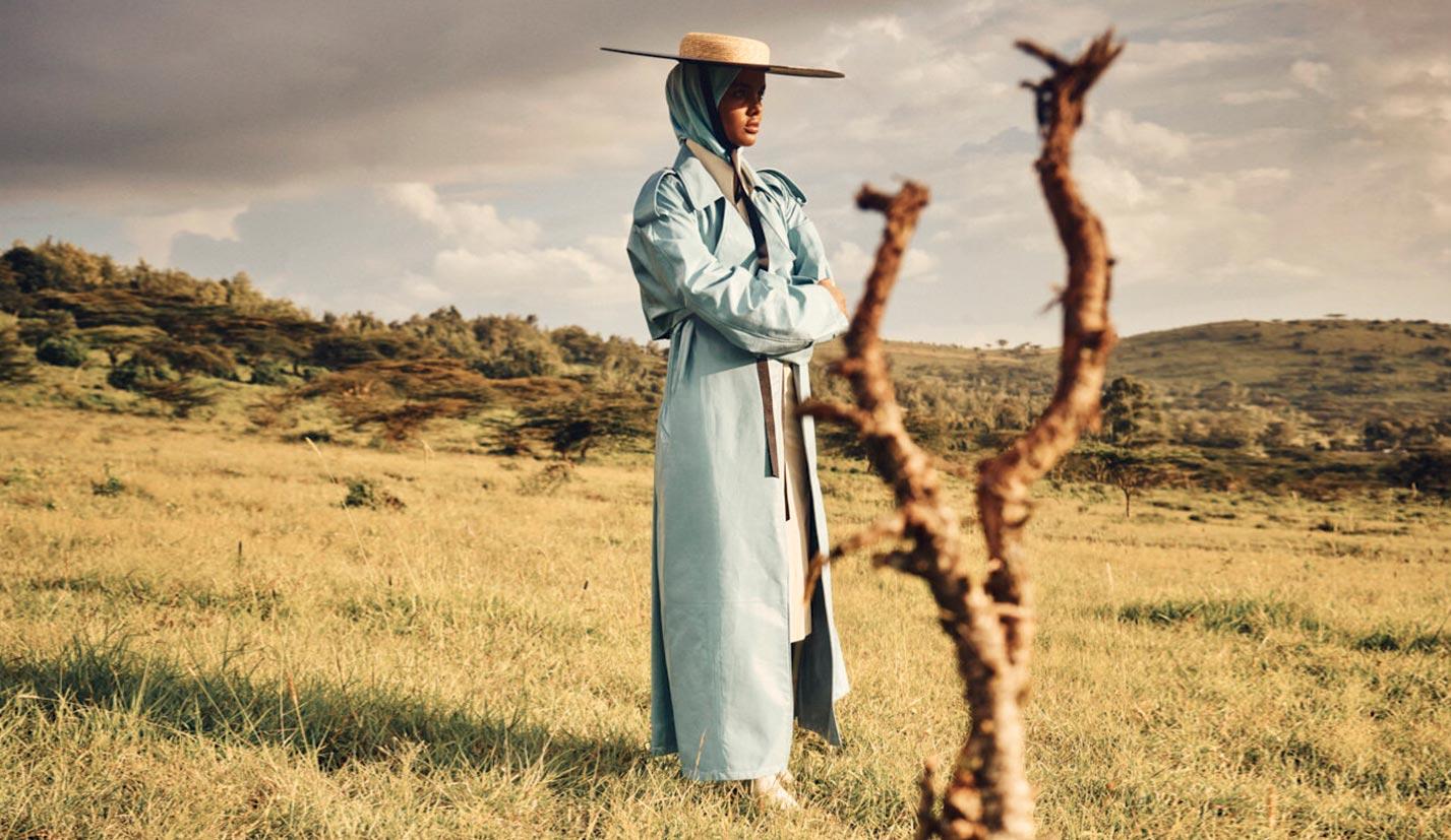 Халима Аден путешествует по Кении