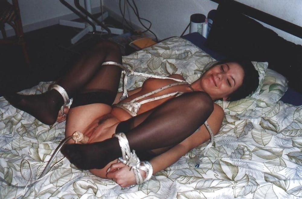 Hogtied sex slave-8750