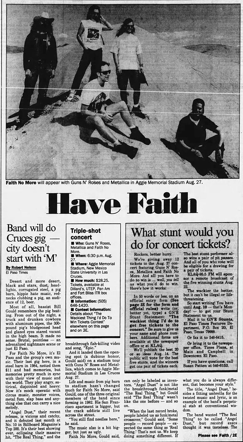 1992.MM.DD - Excerpts from various interviews with members of Faith No More 7Bls3dtN_o