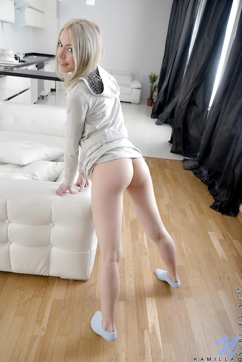 Naked girls in fuzzy socks-4634