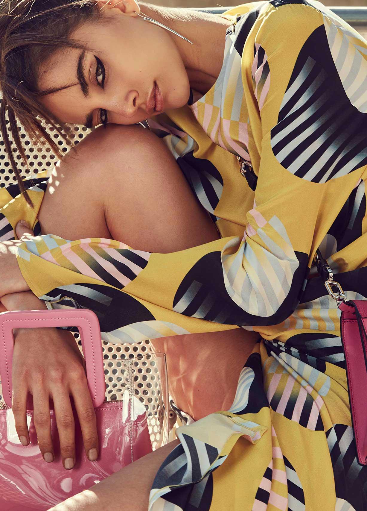 Mili Pineiro by Steven Popovich / Grazia Australia summer 2018